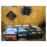 lot of 6 lead batteries and more