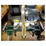 Performax compound sliding miter saw with