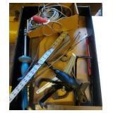 flat of misc tools