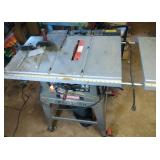 Craftsman table saw with stand