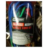 bungee cord and rope lot