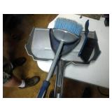 dust pan and shop broom lot