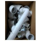 PVC fittings mostly 1.5 inch