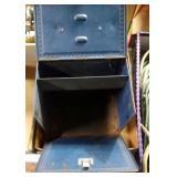 2 Sunbeam antique iron metal cases