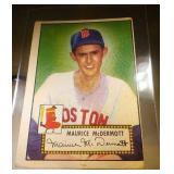 1952 Topps Baseball Maurice McDermott #119