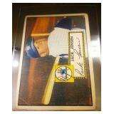 1952 Topps Baseball Jack Jensen #122