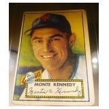 1952 Topps Baseball Monte Kennedy #124