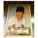1952 Topps Baseball Sheldon Jones #130