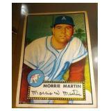 1952 Topps Baseball Morrie Martin #131