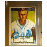 1952 Topps Baseball Joe Tipton #134