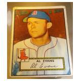 1952 Topps Baseball Al Evans #152