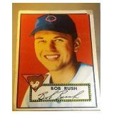 1952 Topps Baseball Bob Rush #153