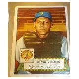 1952 Topps Baseball Myron Ginsberg #192