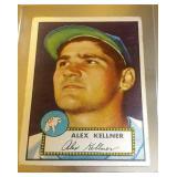 1952 Topps Baseball Alex Kenner #201