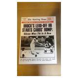 1969 Topps Baseball Lou Brock #165