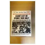 1969 Topps Baseball Al Kaline #166