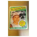 1969 Topps Baseball Johnny Bench #430