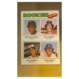 1977 Topps Baseball Dale Murphy #476 rookie
