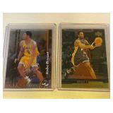2 Kobe Bryant Basketball cards - 1998-99 Topps