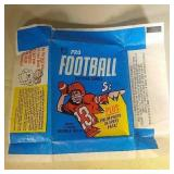 1968 Topps Football wax pack paper