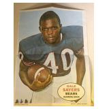 1968 Topps Poster Gale Sayers #8