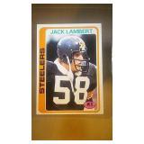 1978 Topps Football Jack Lambert #165