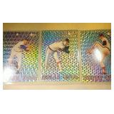 Three Nolan Ryan 1993 Pacific baseball cards #3, 4