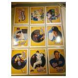 Nolan Ryan Baseball cards - Heroes, Comic Sheet