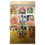 Jerry Rice lot - 9 cards