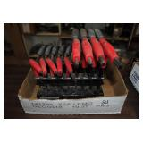pittsburgh 18 piece offset t-handle hex key set