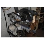 kobalt 71/4 inch mitre saw on stand