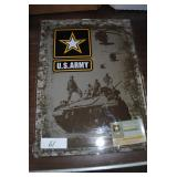 new metal us army sign