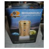 new rechargeable camping lantern