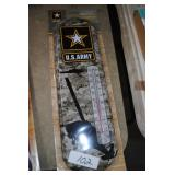 us army metal thermometer
