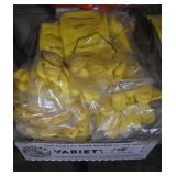 16 pairs of XL rubber gloves