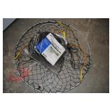 "new collapsible fish trap 12""x36"" and other"