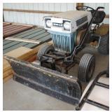 Sears Super 12 Garden Tractor w/2  Plows