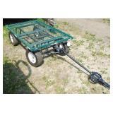 4 Wheel Yard Cart