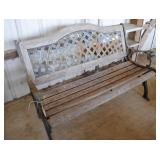 Park Bench - cast iron / wood