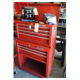 2 Piece Craftsman Tool Box w/Key