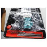 """1"""" Hammer Drill w/Bits w/Case NEW"""
