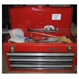 3 Drawer Craftsman Toolbox w/Contents