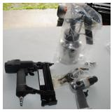 LOT - Brad Nailer, Air Chisel, Spray Gun - NEW