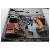 Rigid 12v Drill, 2 Batteries, Charger, Case