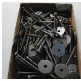"Box - 5"" Lags, 2"" Washers"