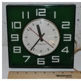 General Electric Retro Square Wall Clock