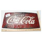 Metal Coca Cola Sign