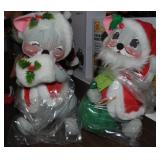 Annalee Christmas Mice Mr&Mrs Clause