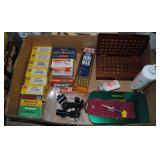 LOT - .22 Ammo and Other Gun Related Items