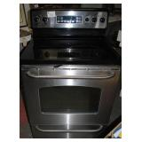 GE Stainless Steel Glasstop Electric Stove